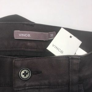 NWT $199 Vince Charcoal Chinos
